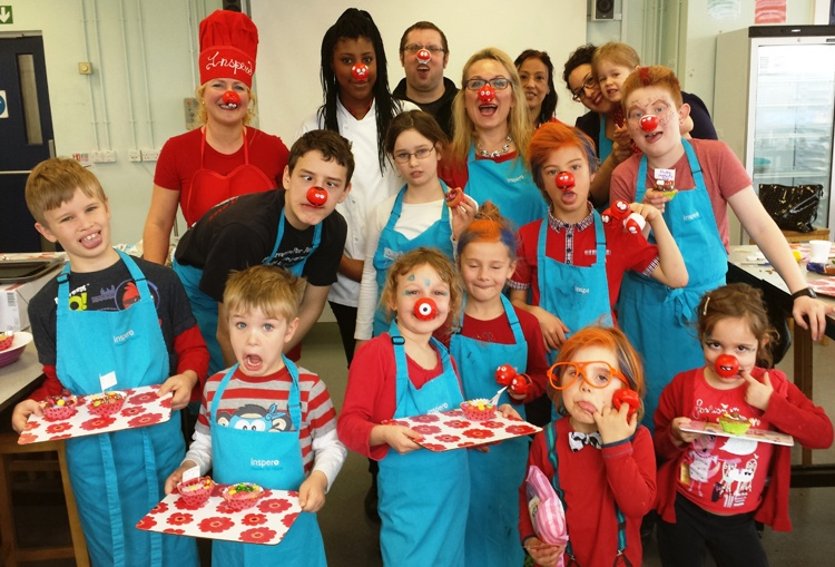 Bake off for Comic Relief